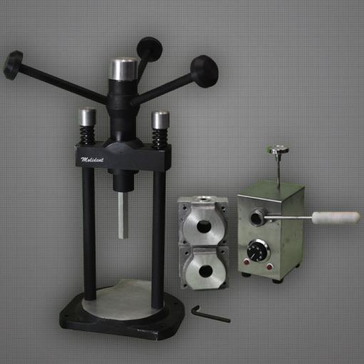 Inyectora para flexibles manual tipo Valplast