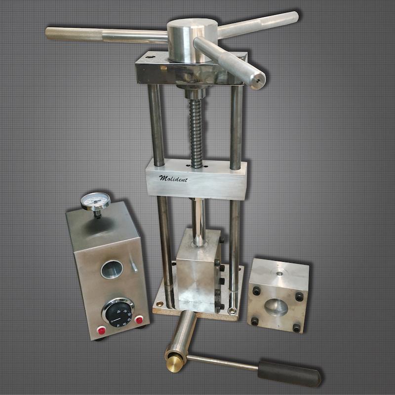Inyectora para flexibles manual tipo Partial Flex