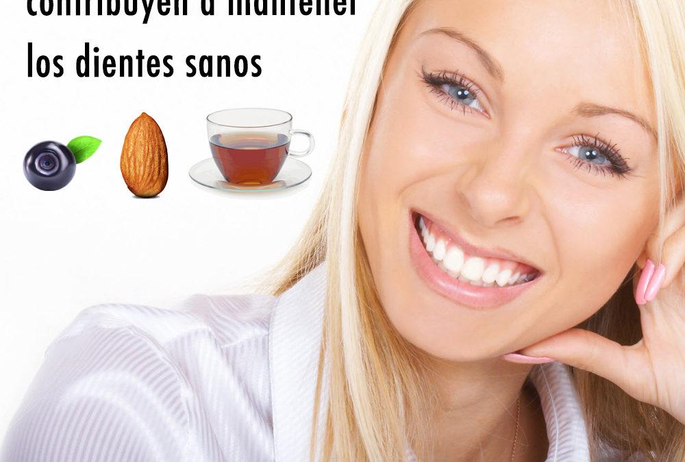 Ocho comidas que contribuyen a mantener los dientes sanos