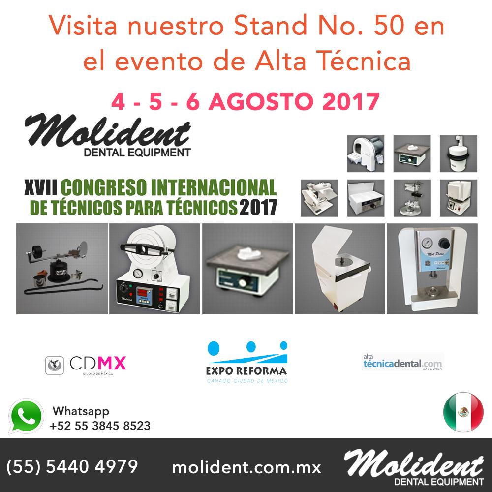 Visita nuestro Stand No. 50 en el evento de Alta Técnica 2017
