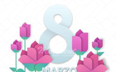8 de Marzo, Felíz Día Internacional de la Mujer